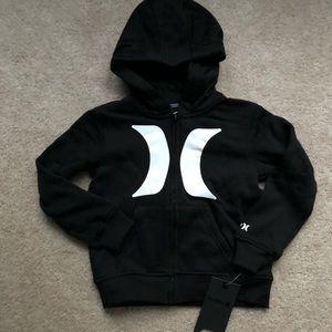 Boys size 6 Hurley hoodie NWT